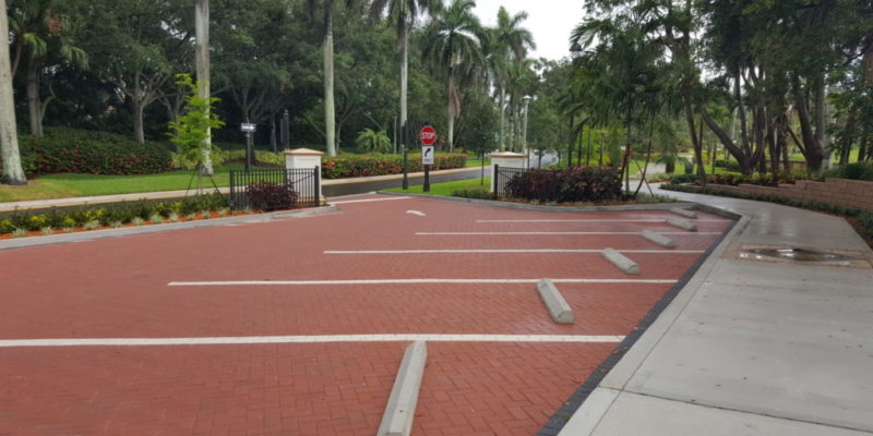 Parking lot addition to Peace mount park in Weston florida