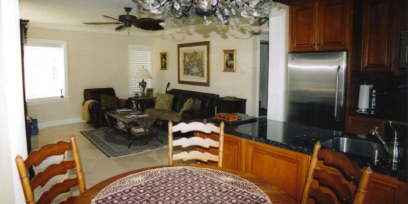 Small beach condo remodel . Lauderdale by the sea Florida . 2005