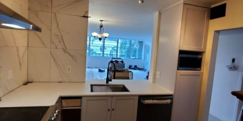 Small old condo kitchen remodeling . FT lauderdal Florida ,2020