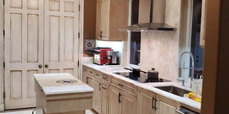 Single family home kitchen remodel . lake worth Florida 2020